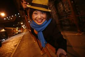 The clown Mariko Iwasa was a participant in ERD's Stampede Lab at the Living Theatre.